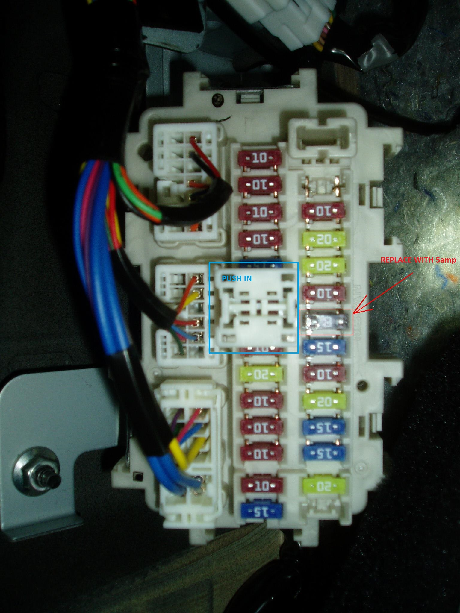 370Z ISO fuse uprev help please please ! nissan 370z forum 370Z Fuse Box Location at crackthecode.co